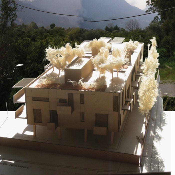 Housing complex in Sparti