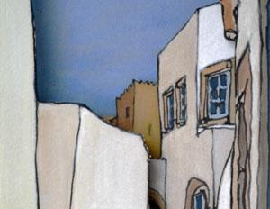 Patmos – cuts and paint