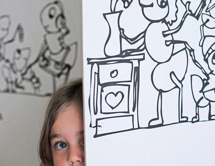 Children's Bedroom Ιllustrations